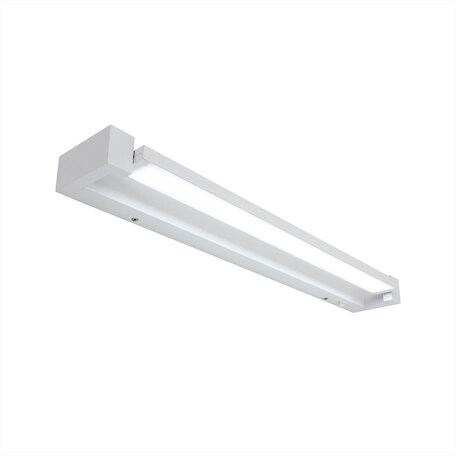 Светодиодный светильник Citilux Визор CL708260N, LED 20W, белый, металл, пластик с металлом, металл с пластиком