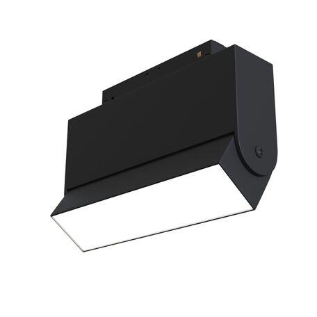 Светильник с регулировкой направления света для магнитной системы Maytoni TR013-2-10W4K-B, черный, металл