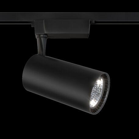 Светильник с регулировкой направления света для шинной системы Maytoni TR003-1-40W3K-B, черный, металл