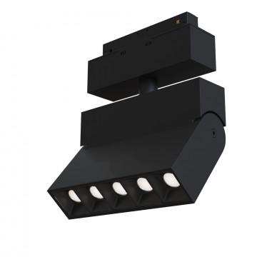 Светильник с регулировкой направления света для магнитной системы Maytoni TR015-2-10W3K-B, черный, металл