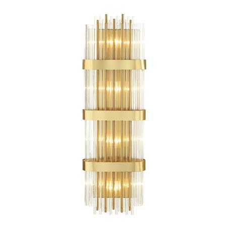 Бра Odeon Light Hall Empire 4853/4W, 4xE14x40W, золото, металл, стекло