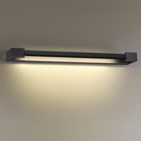 Настенный светодиодный светильник Odeon Light Hightech Arno 3888/18WB, IP44, LED 18W 4000K 1700lm, черный, металл