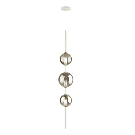 Подвесной светильник Odeon Light Pendant Lazia 4683/3, 3xG9x5W, белый, дымчатый, металл, стекло