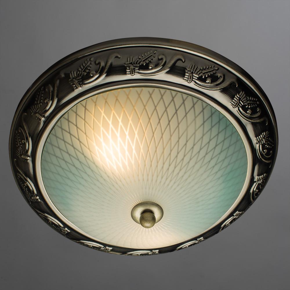 Arte Lamp Alta A3019PL-2AB, 2xE27x40W, белый - фото 2