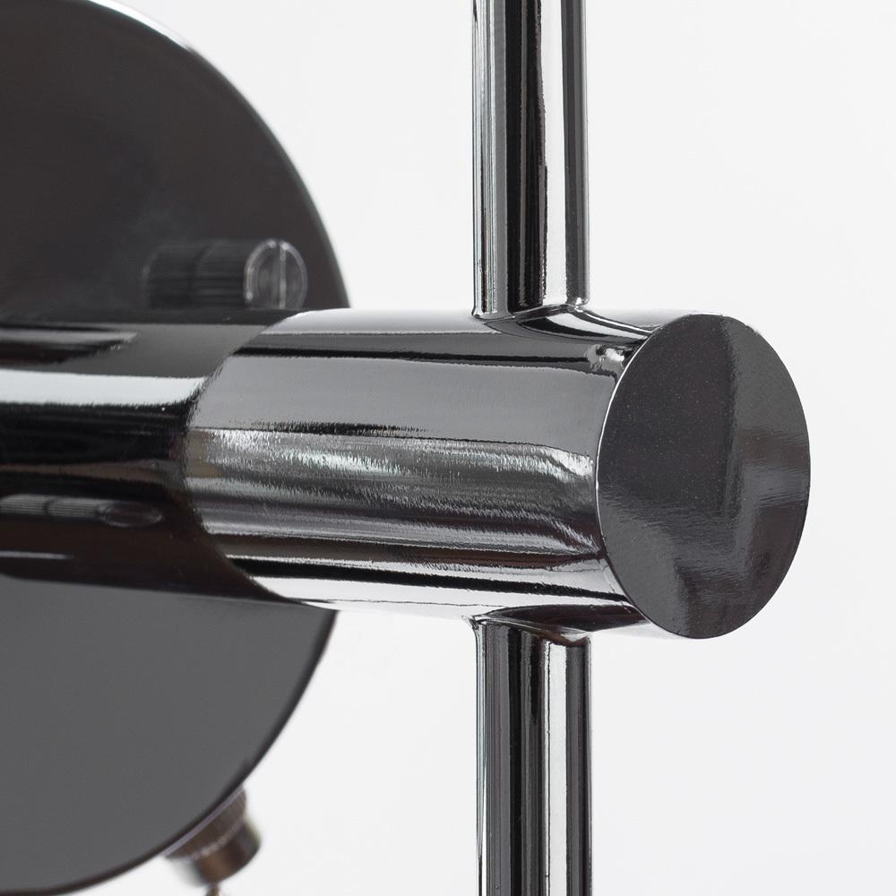 Настенный светильник Arte Lamp Aqua A4444AP-1CC, IP44, 1xG9x25W, хром, белый, металл, стекло - фото 3