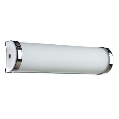 Настенный светильник Arte Lamp Aqua A5210AP-2CC, IP44, 2xE14x40W, хром, белый, металл, стекло