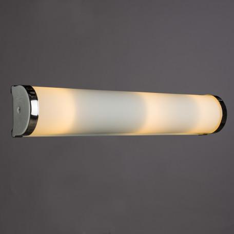 Настенный светильник Arte Lamp Aqua A5210AP-3CC, IP44, 3xE14x40W, хром, белый, металл, стекло - миниатюра 2