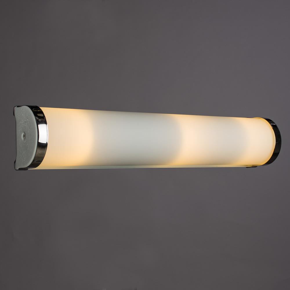 Настенный светильник Arte Lamp Aqua A5210AP-3CC, IP44, 3xE14x40W, хром, белый, металл, стекло - фото 2