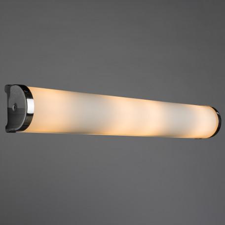Настенный светильник Arte Lamp Aqua A5210AP-4CC, IP44, 4xE14x40W, хром, белый, металл, стекло - миниатюра 2