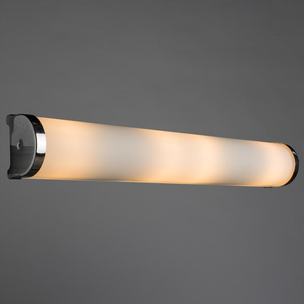Настенный светильник Arte Lamp Aqua A5210AP-4CC, IP44, 4xE14x40W, хром, белый, металл, стекло - фото 2