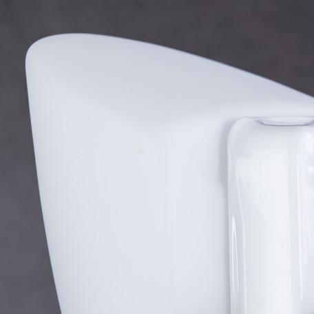 Настенный светильник Arte Lamp Tablet A6930AP-1WH, 1xE27x60W, белый, металл, стекло - миниатюра 3