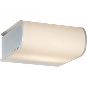 Настенный светильник Arte Lamp Libri A8856AP-1CC, 1xG9x28W, хром, белый, металл, стекло