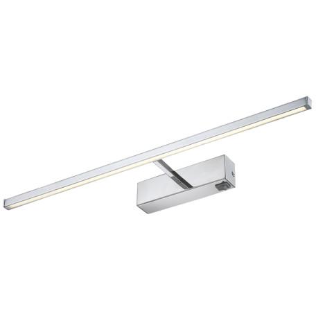 Настенный светодиодный светильник для подсветки картин Arte Lamp Picture Lights LED A5312AP-1CC, LED 12W 3000K 550lm CRI≥80, хром, металл, пластик