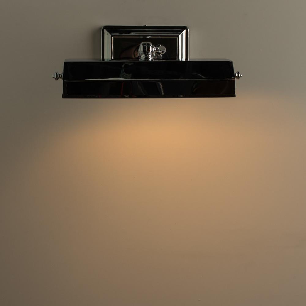 Настенный светильник для подсветки картин Arte Lamp Picture Lights Vintage A9126AP-1CC, 1xE14x40W, хром, металл - фото 4