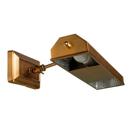 Настенный светильник для подсветки картин Arte Lamp Picture Lights Vintage A9126AP-2SR, 2xE14x40W, латунь, металл - миниатюра 1