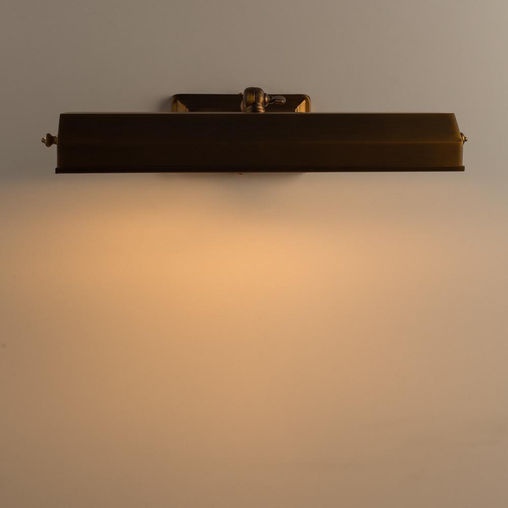 Настенный светильник для подсветки картин Arte Lamp Picture Lights Vintage A9126AP-2SR, 2xE14x40W, латунь, металл - фото 3