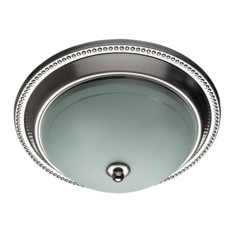 Потолочный светильник Arte Lamp Alta A3011PL-2SS, 2xE27x40W, серебро, белый, металл, стекло