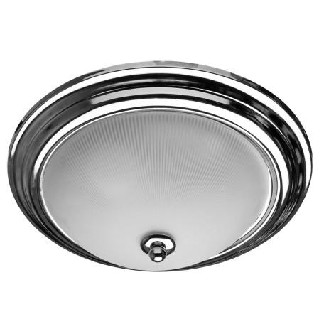 Потолочный светильник Arte Lamp Alta A3012PL-2CC, 2xE27x40W, хром, белый, металл, стекло