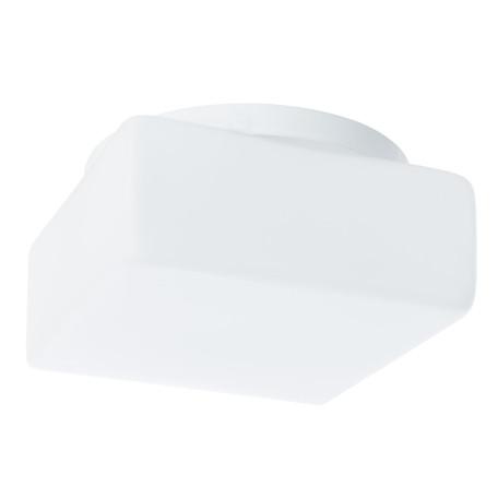 Потолочный светильник Arte Lamp Tablet A7420PL-1WH, 1xE27x100W, белый, металл, стекло
