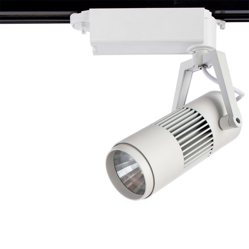 Светодиодный светильник для шинной системы Arte Lamp Linea A6520PL-1WH, LED 20W, 4000K (дневной), белый, металл - фото 1