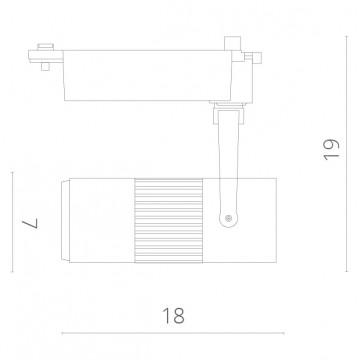 Схема с размерами Arte Lamp A6520PL-1WH
