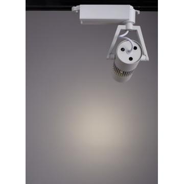 Светодиодный светильник для шинной системы Arte Lamp Linea A6520PL-1WH, LED 20W, 4000K (дневной), белый, металл - миниатюра 3