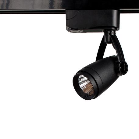 Светодиодный светильник с регулировкой направления света для шинной системы Arte Lamp Instyle Piccolo A5910PL-1BK, LED 10W 4000K 700lm CRI≥80, черный, металл