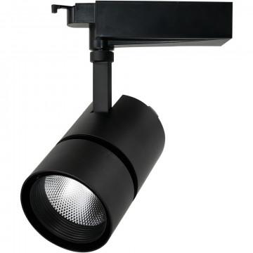 Светильник для шинной системы Arte Lamp Track Lights A2450PL-1BK 4000K (дневной), черный, металл
