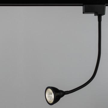 Светодиодный светильник Arte Lamp Instyle Cercare A4107PL-1BK, LED 7W 4000K 600lm CRI≥80, черный, пластик, металл