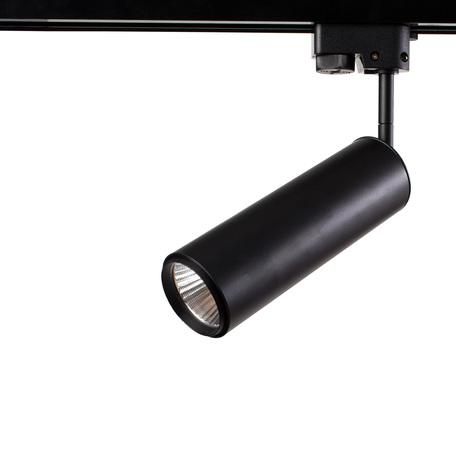 Светодиодный светильник с регулировкой направления света для шинной системы Arte Lamp Instyle Periscopio A1412PL-1BK, LED 12W 4000K 720lm CRI≥80, черный, металл