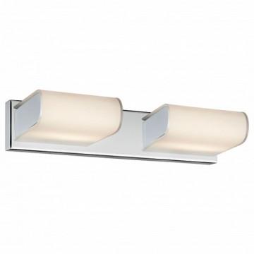 Настенный светильник Arte Lamp Libri A8856AP-2CC, хром, белый, металл, стекло