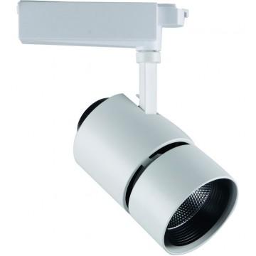 Светильник для шинной системы Arte Lamp Track Lights A2450PL-1WH, белый, металл
