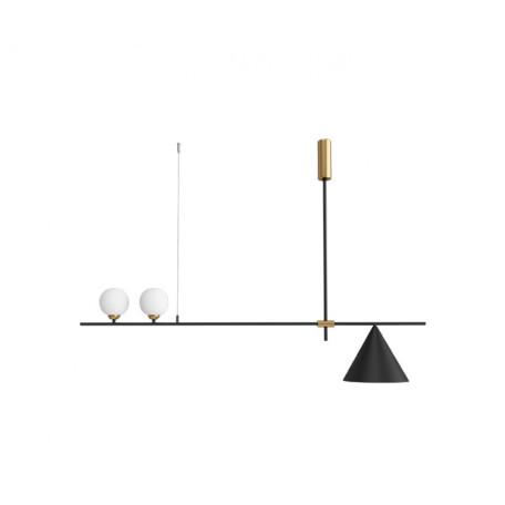 Потолочный светильник Kink Light Пулл 07620-2+1,19, 2xG4x5W +  1xE27x40W