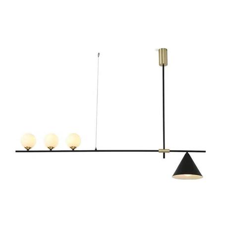 Потолочный светильник Kink Light Пулл 07620-3+1,19, 3xG4x5W +  1xE27x40W