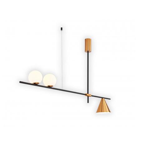 Потолочный светильник Kink Light Пулл 07620A-2+1,33, 2xG4x5W +  1xE27x40W