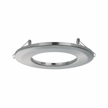 Переходник для уменьшения диаметра монтажного отверстия Paulmann Downlight Adapter 92498, матовый хром, металл