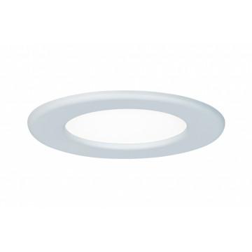 Встраиваемая светодиодная панель Paulmann Quality Line Panel IP44 92058, IP44, LED 6W, белый, металл с пластиком