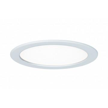 Встраиваемая светодиодная панель Paulmann Quality Line Panel IP44 92060, IP44, LED 18W, белый, металл с пластиком