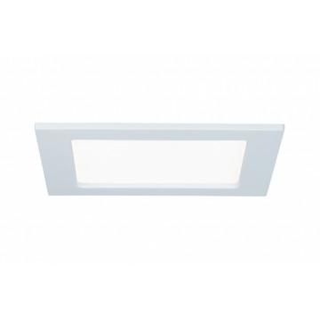 Встраиваемая светодиодная панель Paulmann Quality Line Panel IP44 92065, IP44, LED 12W, белый, металл с пластиком