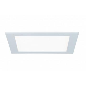 Встраиваемая светодиодная панель Paulmann Quality Line Panel IP44 92066, IP44, LED 18W, белый, металл с пластиком
