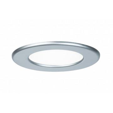 Светодиодная панель Paulmann Quality Line Panel IP44 92070, IP44, LED 6W, матовый хром, металл с пластиком