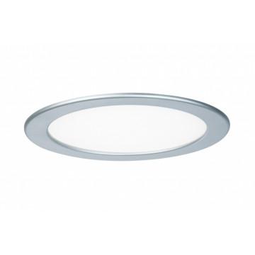 Светодиодная панель Paulmann Quality Line Panel IP44 92072, IP44, LED 18W, матовый хром, металл с пластиком