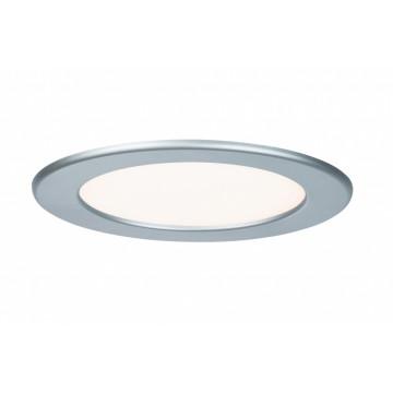 Светодиодная панель Paulmann Quality Line Panel IP44 92074, IP44, LED 12W, матовый хром, металл с пластиком