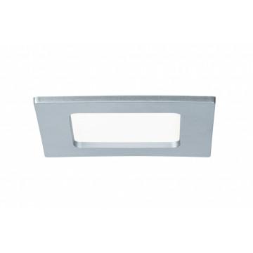 Светодиодная панель Paulmann Quality Line Panel IP44 92076, IP44, LED 6W, матовый хром, металл с пластиком