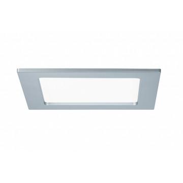 Светодиодная панель Paulmann Quality Line Panel IP44 92077, IP44, LED 12W, матовый хром, металл с пластиком