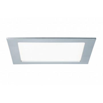 Светодиодная панель Paulmann Quality Line Panel IP44 92078, IP44, LED 18W, матовый хром, металл с пластиком