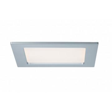 Светодиодная панель Paulmann Quality Line Panel IP44 92080, IP44, LED 12W, матовый хром, металл с пластиком