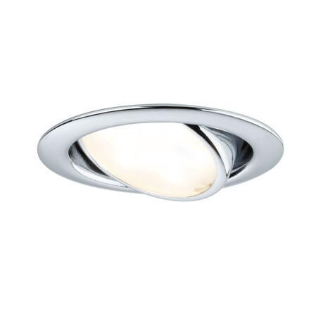 Встраиваемый мебельный светодиодный светильник Paulmann Micro Line schwenkbar LED 230V 92087, LED 4,2W, металл