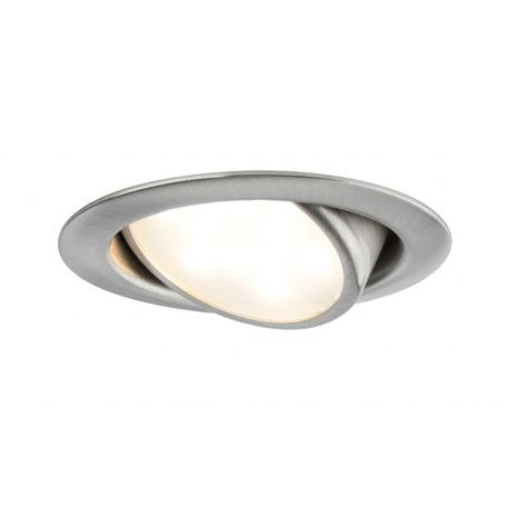 Встраиваемый мебельный светодиодный светильник Paulmann Micro Line schwenkbar LED 230V 92089, LED 4,2W, металл
