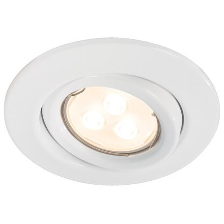Встраиваемый светильник Paulmann Quality Line LED 92027, 1xGU10x4W, металл
